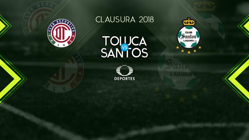Toluca vs Santos, Jornada 8 de Liga MX C2018 ¡En vivo por internet! - toluca-vs-santos-j8-clausura-2018