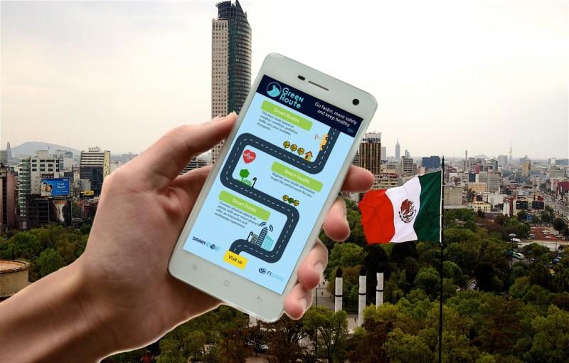 Crean app de rutas verdes para ciudades - app_green-route-800x510