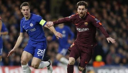 Barcelona vs Chelsea, Octavos de Champions 2018 | Resultado: 3-0