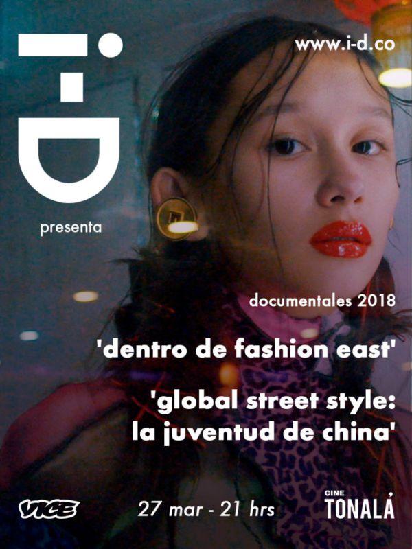 east 600x800 Proyección de documentales en la CDMX: Dentro de Fashion East y Global Street Style: La Juventud de China
