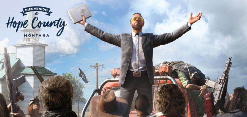 Far Cry 5 ¡Conoce el demencial Hope County, Montana!