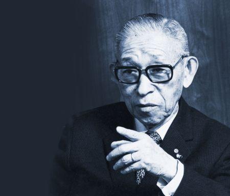 Panasonic conmemora su centenario con la inauguración de museo en honor a su fundador - konosuke-matsushita-450x384