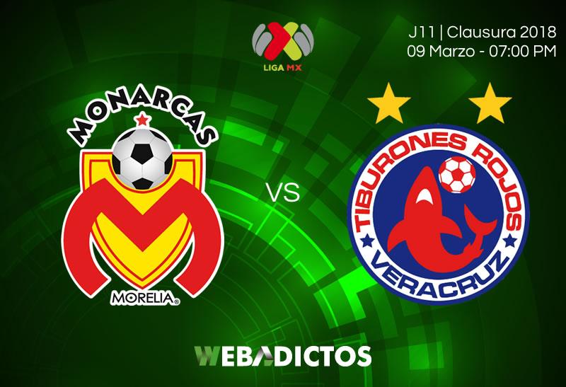 Morelia vs Veracruz, J11 del Clausura 2018 ¡En vivo por internet! - morelia-vs-veracruz-clausura-2018-j11