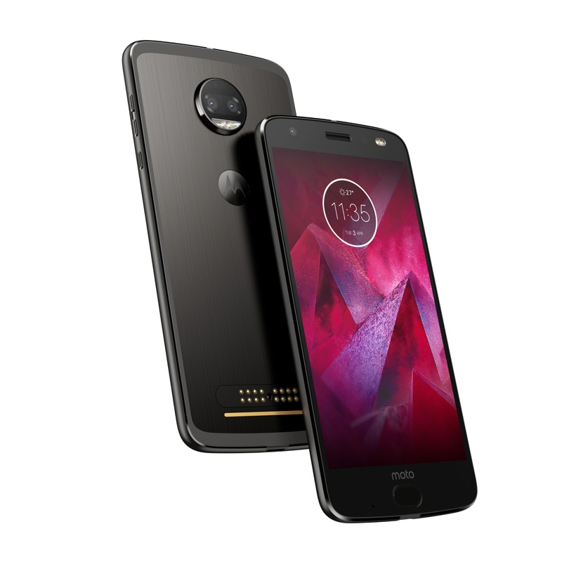 Android Oreo muy pronto en los Moto Z2 Force - moto-z2-force-edition_front-back_super-black