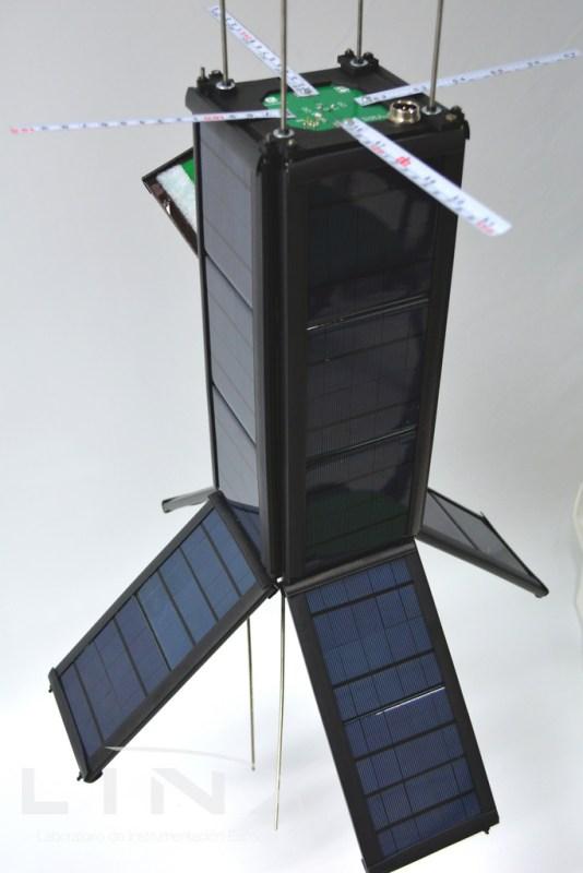 Diseñó y lanzó la UNAM el primer nanosatélite totalmente mexicano - nanoconect1-nanosatelite_3-534x800