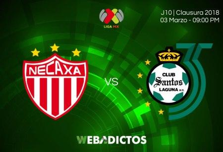 Necaxa vs Santos: horario y transmisión en la J10 del Clausura 2018