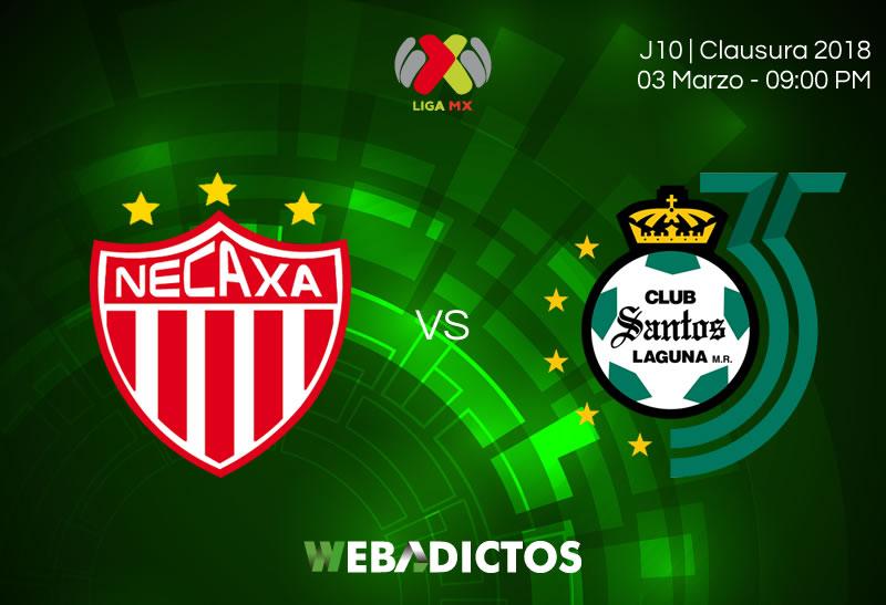 Necaxa vs Santos: horario y transmisión en la J10 del Clausura 2018 - necaxa-vs-santos-clausura-2018-j10