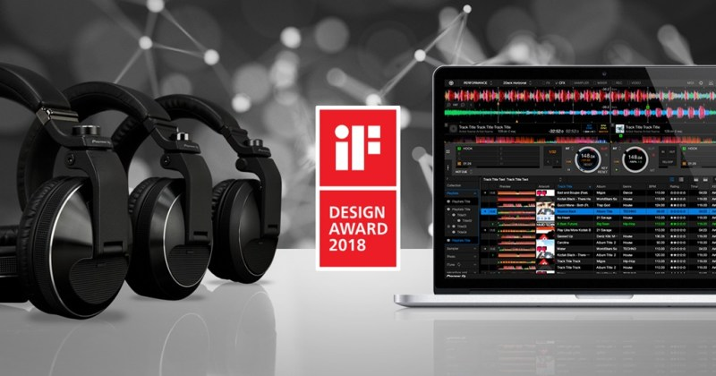 Pioneer DJ galardonado en los iF Design Awards 2018 - pdj_fb_if_award_post-800x420