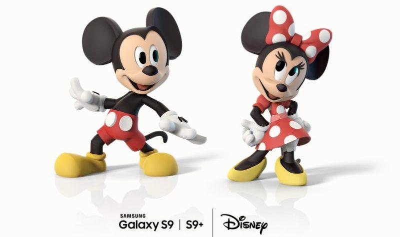 Los personajes de Disney en los nuevos Emojis AR para Samsung Galaxy S9 y S9+ - personajes-de-disney-en-los-nuevos-emojis-ar-para-samsung-galaxy-s9-800x475