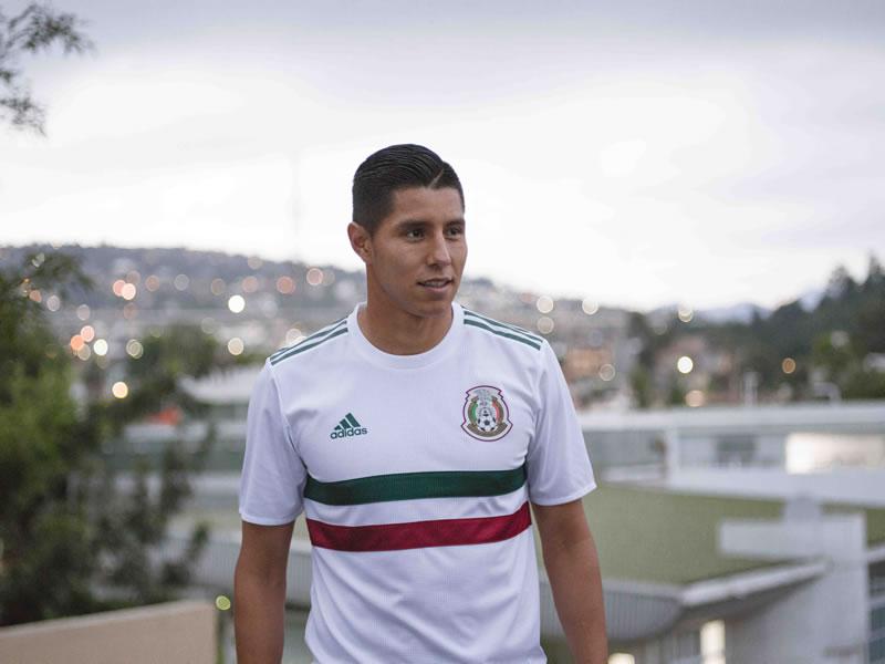Playera de visitante de México para Rusia 2018 es revelada por adidas - playera-visita-mexico-1
