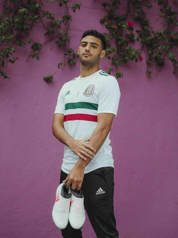 Playera de visitante de México para Rusia 2018 es revelada por adidas - playera-visita-mexico-2