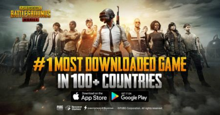 Ocupa el #1 PlayerUnkown's Battlegrounds Mobile en 100 Países