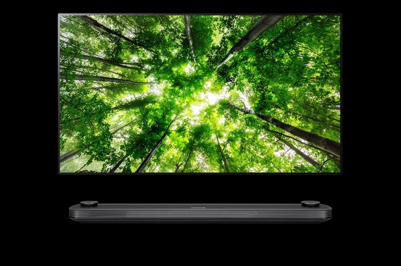 La nueva gama de televisores OLED y SUPER UHD premium de LG 2018 - signature_w8-800x531