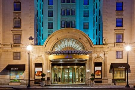 7 Hoteles perfectos para mujeres que viajan solas - the-hamilton-hotel-washington-dc-1