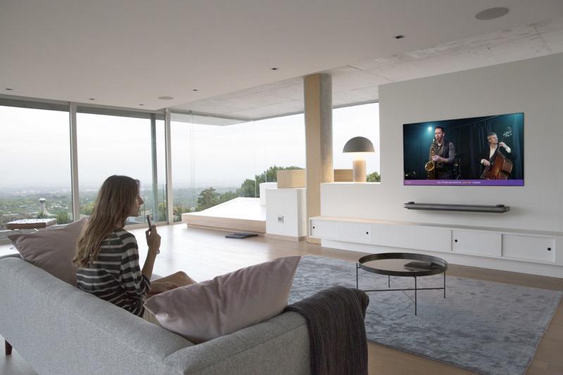 La nueva gama de televisores OLED y SUPER UHD premium de LG 2018 - thinq_turn-on-jazz-hits-800x533
