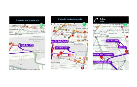 Waze te da la información sobre las rutas y vías alternas durante el Vive Latino 2018