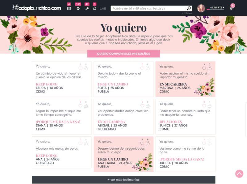 Yo Quiero, una campaña para que las mexicanas alcen la voz - yoquieromx-800x595
