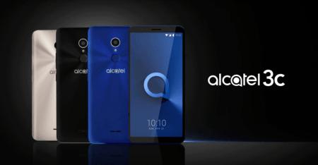 Alcatel 3C, el smartphone con pantalla 18:9 ¡llega a México!