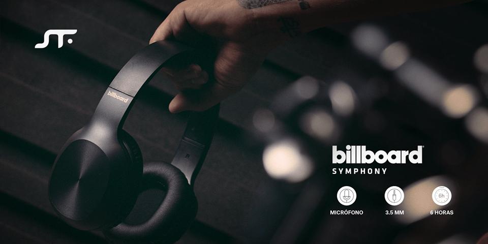 Billboard, nueva línea de audífonos y bocinas de alta fidelidad llega a México - audifonos-billboard