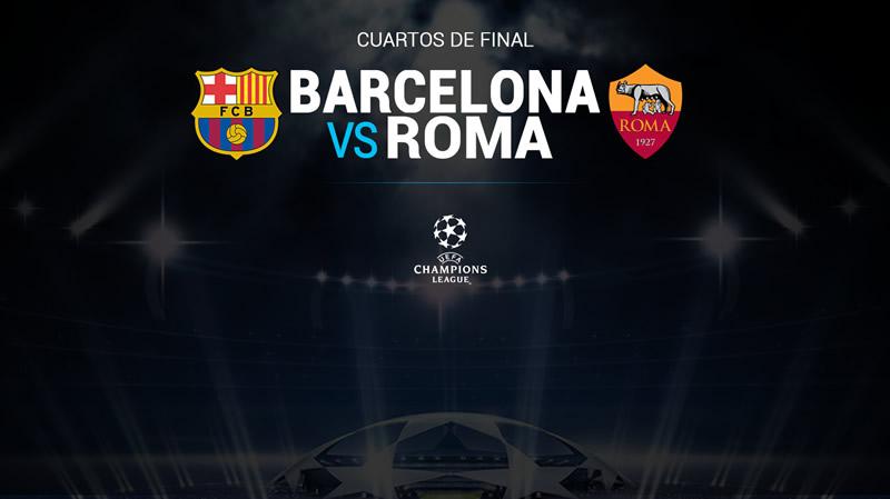 barcelona vs roma champions online Barcelona vs Roma, Cuartos de Champions 2018 | Resultado: 4 1
