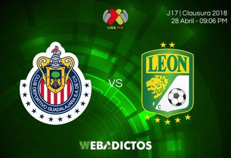 Chivas vs León, Jornada 17 Clausura 2018 ¡En vivo por internet!