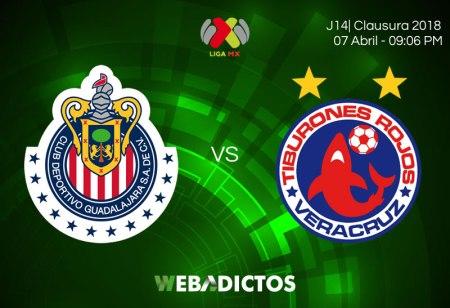Chivas vs Veracruz en la J14 del Clausura 2018 ¡En vivo por internet!