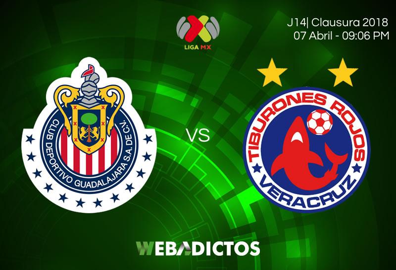 Chivas vs Veracruz en la J14 del Clausura 2018 ¡En vivo por internet! - chivas-vs-veracruz-clausura-2018-jornada-14