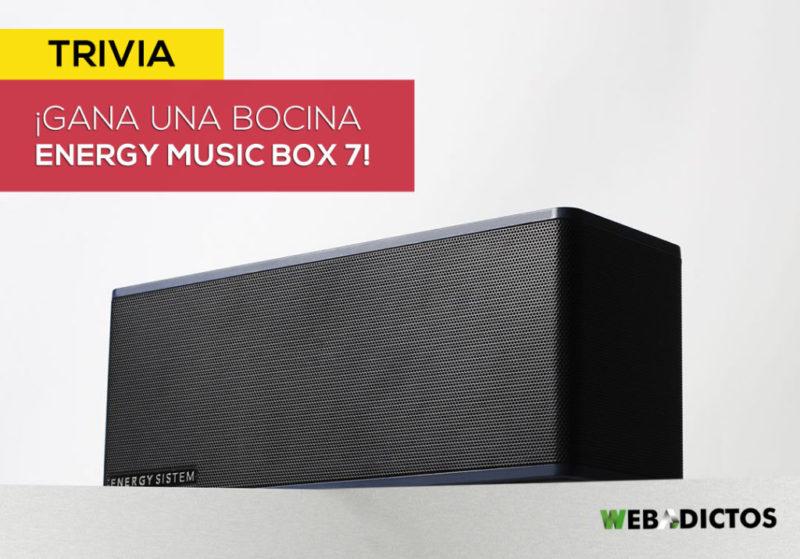 [TRIVIA] Participa para ganar poderoso altavoz: Energy Music Box 7 - energy-music-box-7-trivia-energy-800x559