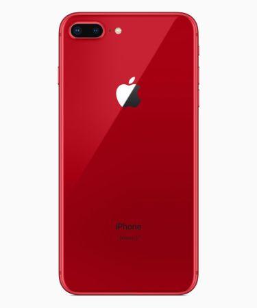 Los iPhone 8 y 8 Plus se visten de rojo en su nueva edición (PRODUCT) RED - iphone8plus-product-red_back_041018