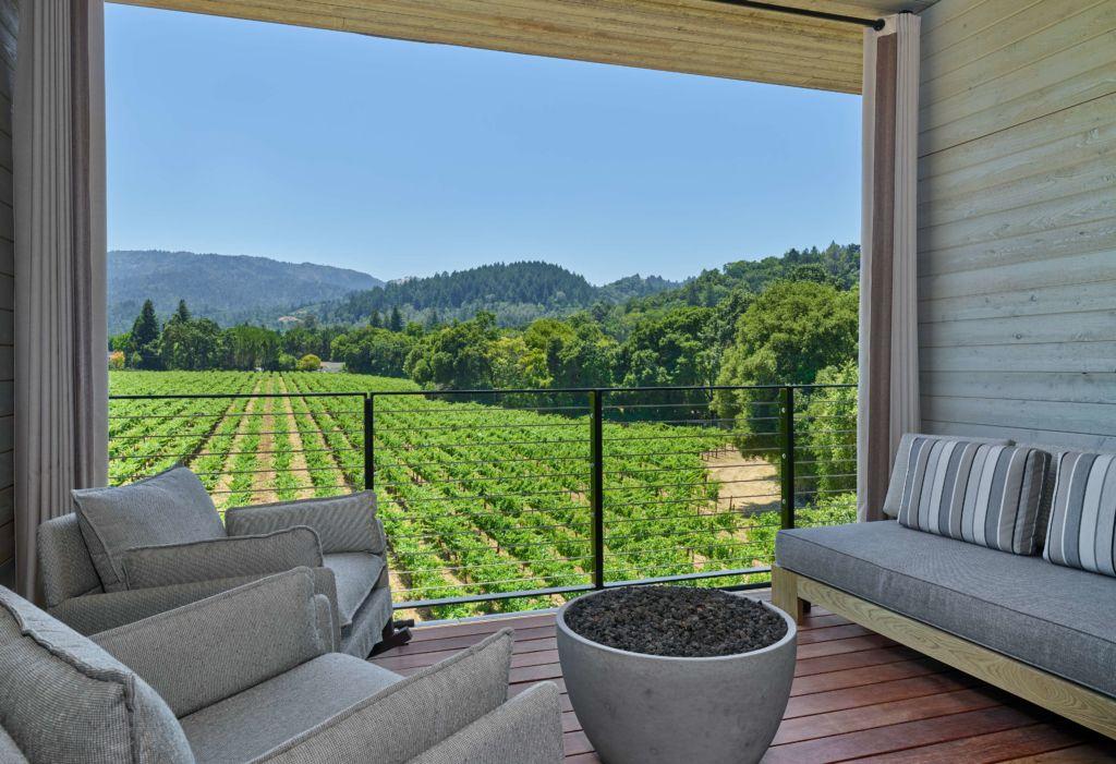 Los 10 alojamientos más Instagrameables del mundo, en Booking.com - las-alcobas-napa-valley