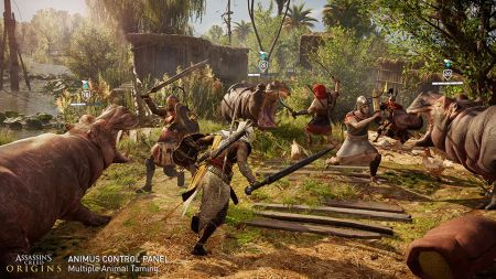 Panel de Control del Animus ¡ya disponible para Assassin's Creed Origins!