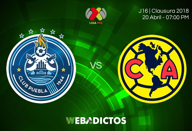 EN VIVO, Jornada 16, Clausura 2018, Liga MX — Puebla vs América