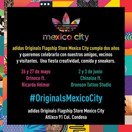 Adidas Originals Flagship Store Mexico City ¡celebra su Segundo Aniversario!