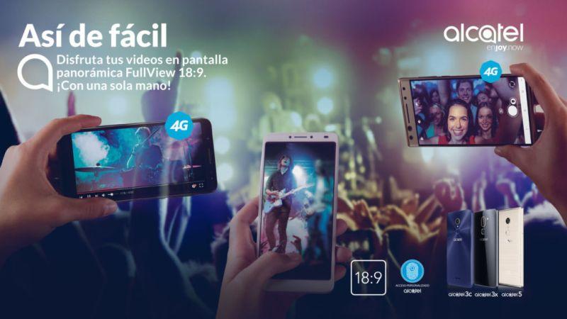 Alcatel presenta en México nuevas series de smartphones: Alcatel 3C, 3X y 5 - alcatel-smartphone