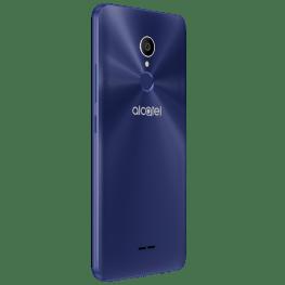Alcatel presenta en México nuevas series de smartphones: Alcatel 3C, 3X y 5 - alcatel_3c_metallic-bluewith-fp_back-left