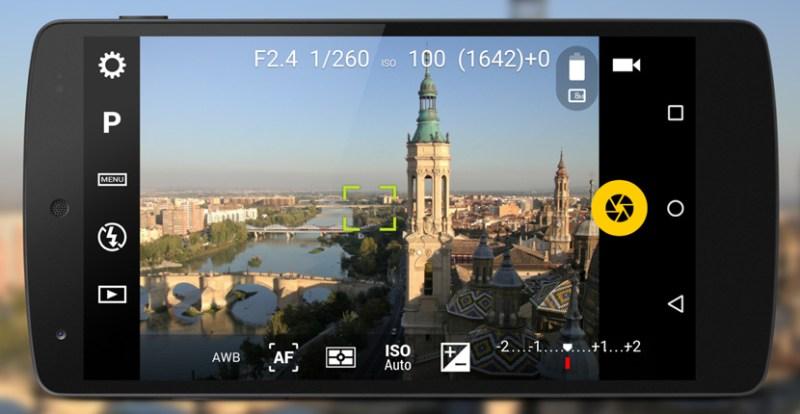 Apps gratuitas para tomar fotos profesionales en Android - camera-fv-5-nueva-ui-800x414
