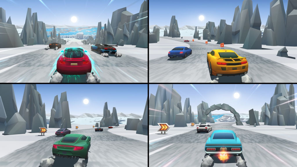 carreras horizon chase turbo 3 El frenético arcade de carreras Horizon Chase Turbo en PS4 y Steam
