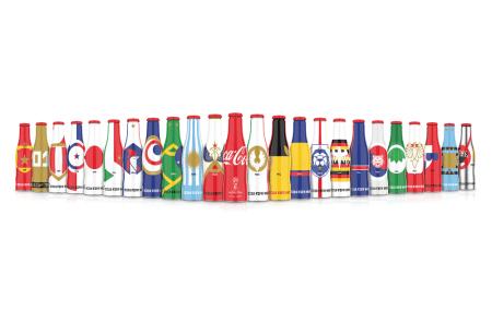 Colección de Mini-Mundialistas, inspirados en los países que competirán en la Copa Mundial
