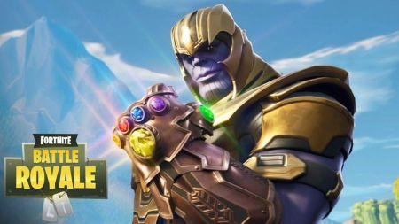 Thanos de Infinity War llega a 'Fortnite: Battle Royale'