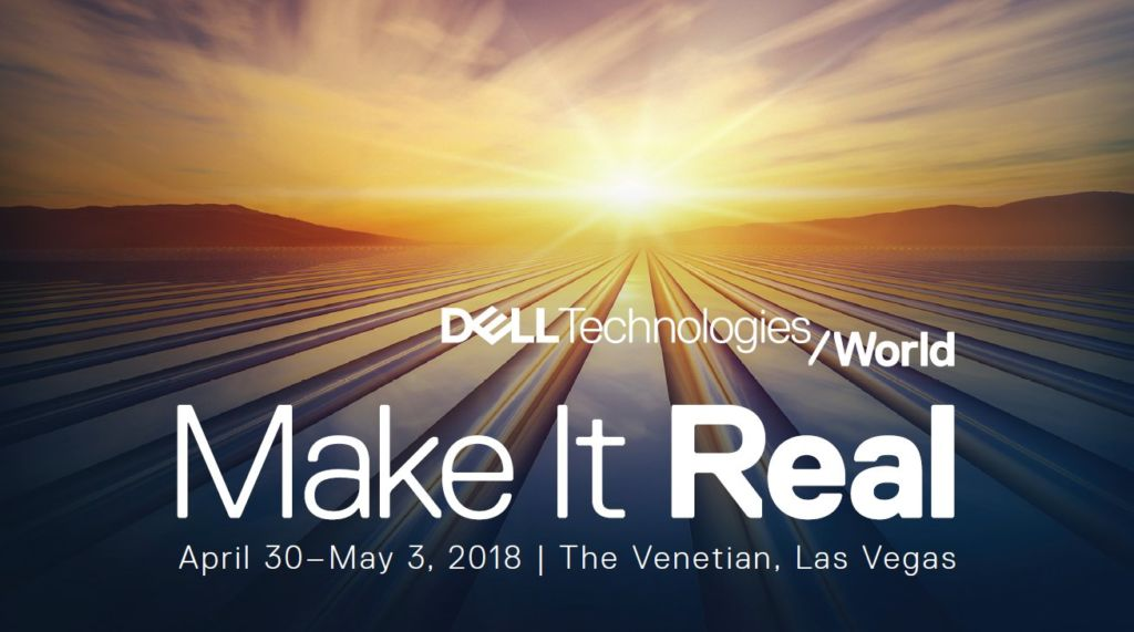 dell Dell Technologies World 2018 da inicio ¡transmisión en vivo y virtuales!