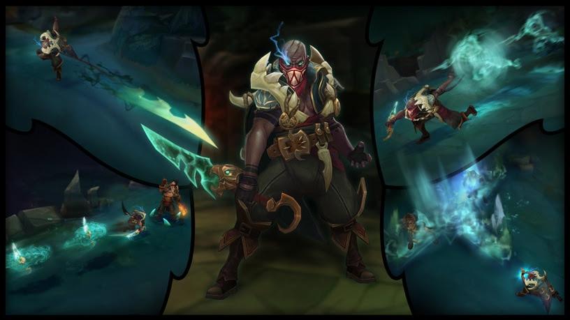 Nuevo campeón llega a League of Legends: Pyke - league-of-legends-pyke_1