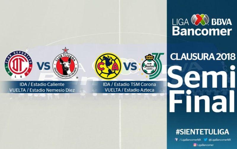 liga mx semifinales 800x504 Definidos horarios y fechas para las Semifinales de la Liga MX