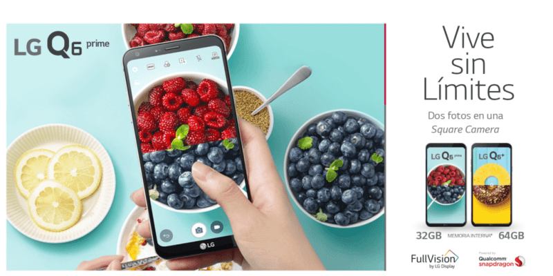 LG comenzó la liberación de la actualización de software para la familia Q6 - lq6