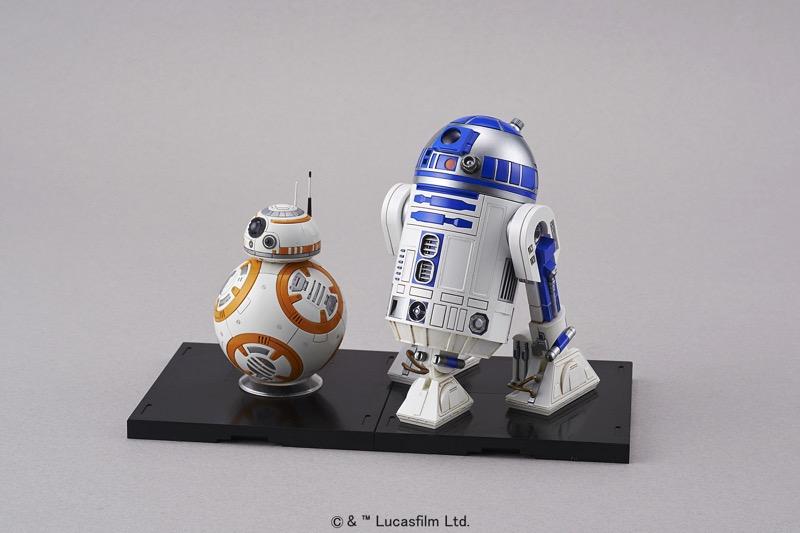 r2d2 bb8 Bandai Hobby de Star Wars, nueva línea de juguetes para armar ¡llega a México!