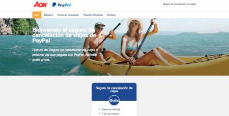 PayPal lanza un seguro de cancelación de viajes gratuito en México
