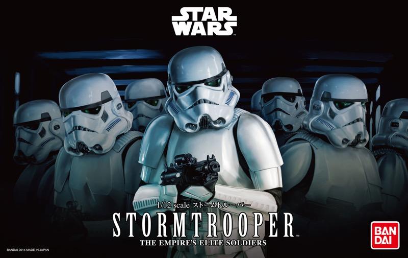 stormtrooper star wars the force awakens 2018 Bandai Hobby de Star Wars, nueva línea de juguetes para armar ¡llega a México!