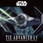Bandai Hobby de Star Wars, nueva línea de juguetes para armar ¡llega a México! - tie-advanced-x1_2018