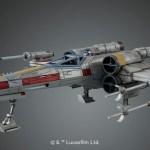 Bandai Hobby de Star Wars, nueva línea de juguetes para armar ¡llega a México! - x-wing-starfighter_star-wars-originals_2018