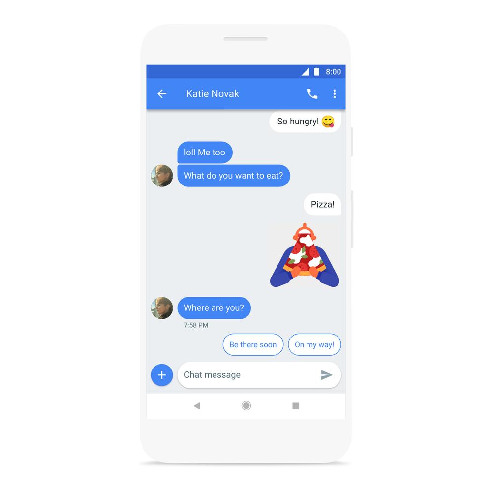Mensajes Android ya cuenta con versión web, entre otras novedades - am-smart-reply
