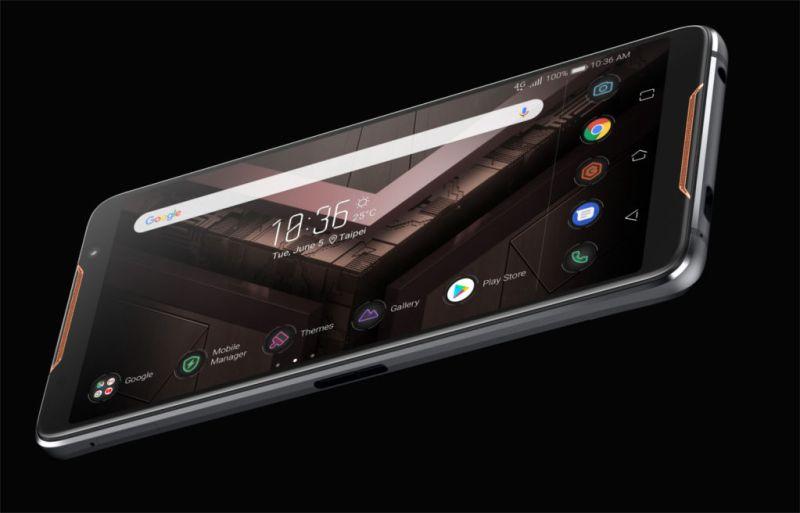 ASUS Republic of Gamers presenta el ROG Phone - asus-rog-phone-800x513